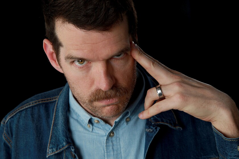 """Actor Timothy Simons of """"VEEP"""" is photographed at the Los Angeles Times studio for an Emmy Contender"""