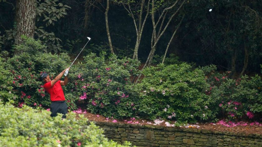 The 2019 Masters Tournament, Augusta, USA - 14 Apr 2019