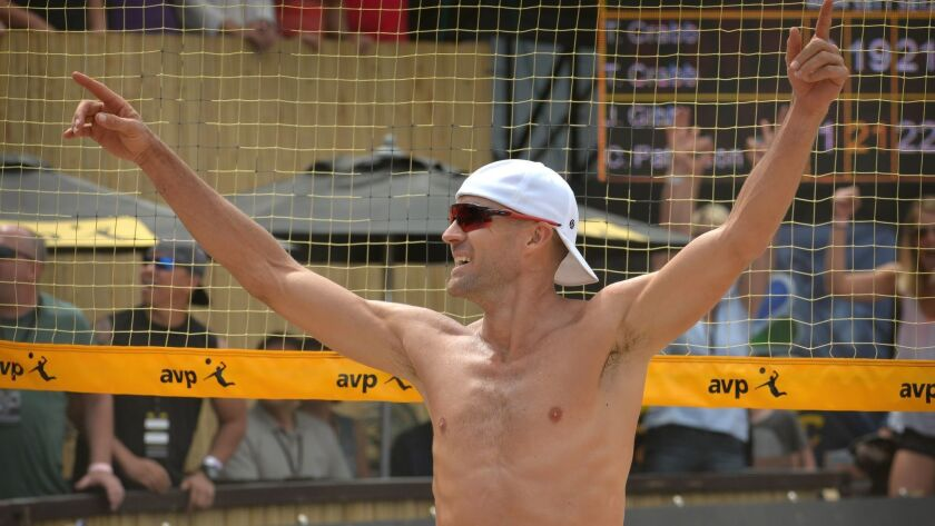 Men's beach volleyball finals of the APV Huntington Beach Open