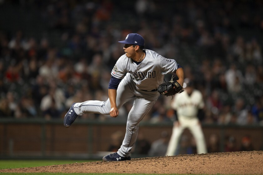 Padres rookie reliever Andres Munoz struck out 30 batters in 23 innings.