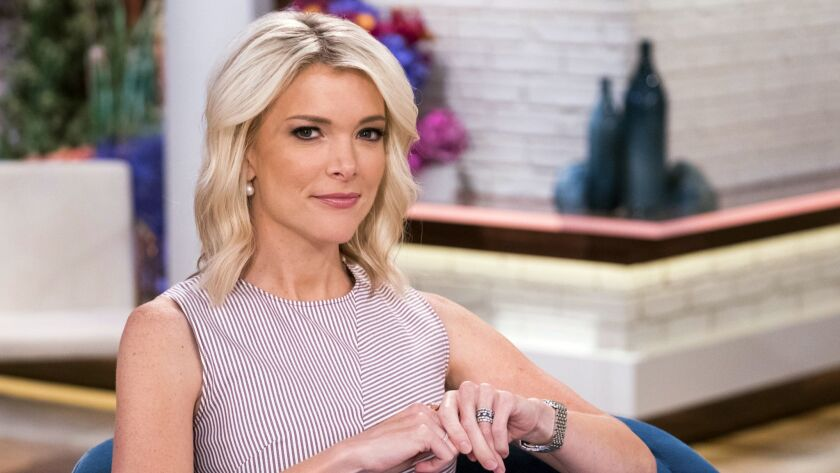 "Megyn Kelly poses on the set of her show, ""Megyn Kelly Today"" at NBC Studios on Thursday, Sept, 21, 2017, in New York."