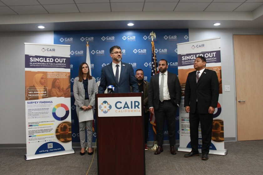 CAIR-LA report on faith-based bullying of Muslim students