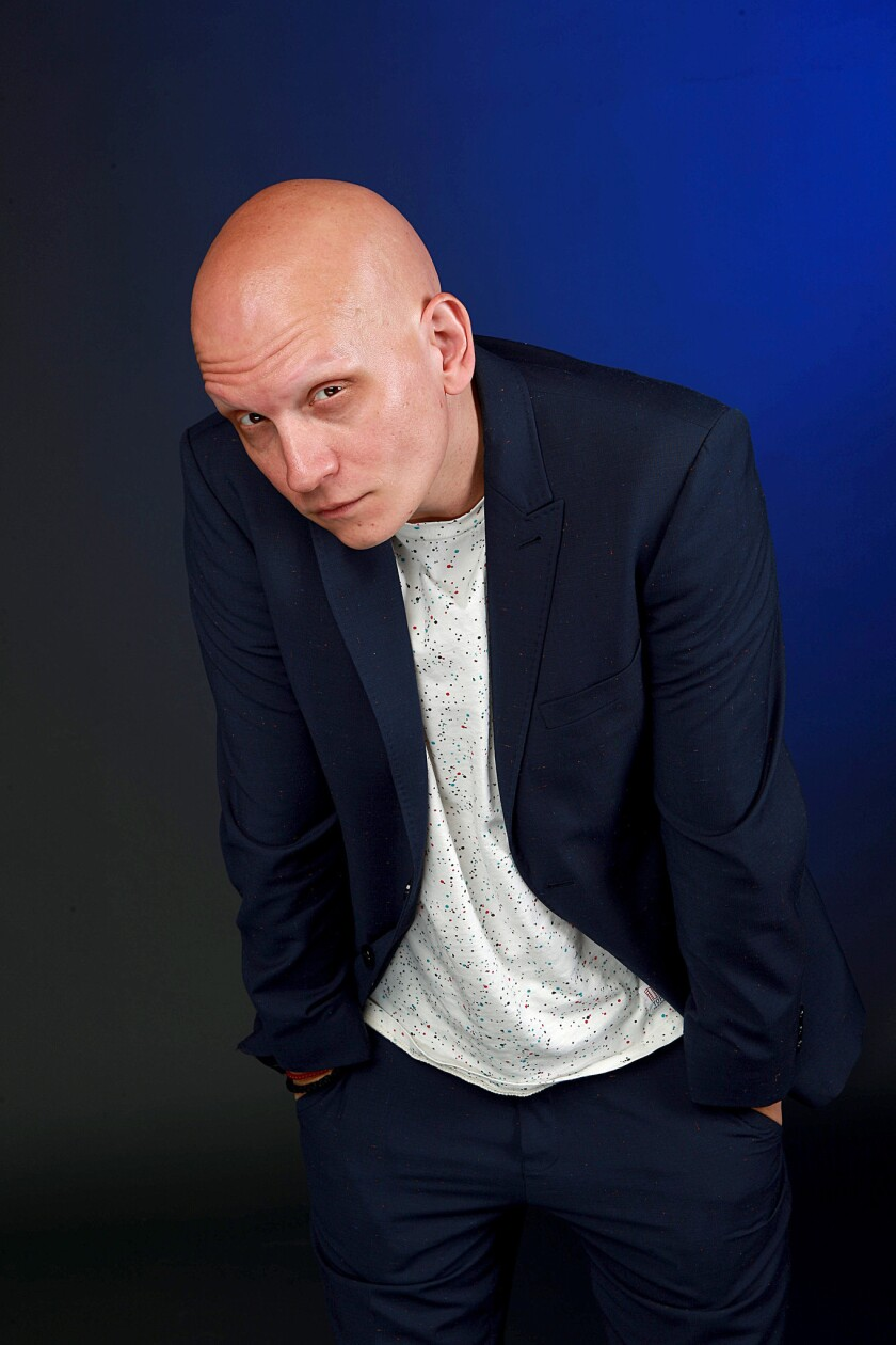 """Anthony Carrigan is known for playing Victor Zsasz in the FOX series """"GOTHAM"""" and band Tyler Davies"""