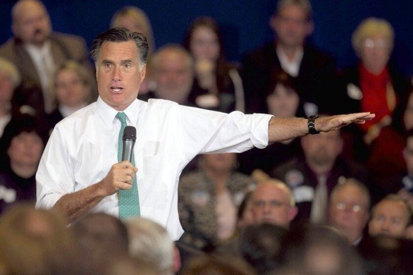 Mitt Romney struggles to differentiate his foreign policy from the president's