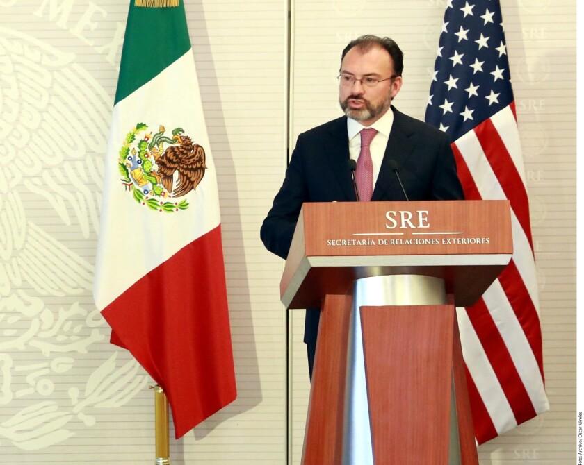 La Secretaría de Relaciones Exteriores (SRE) celebró que en el primer año de la Presidencia de Donald Trump se haya mantenido y fortalecido el diálogo con Estados Unidos.