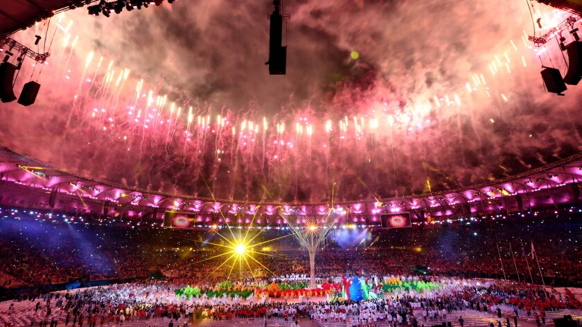 The closing ceremony in Rio