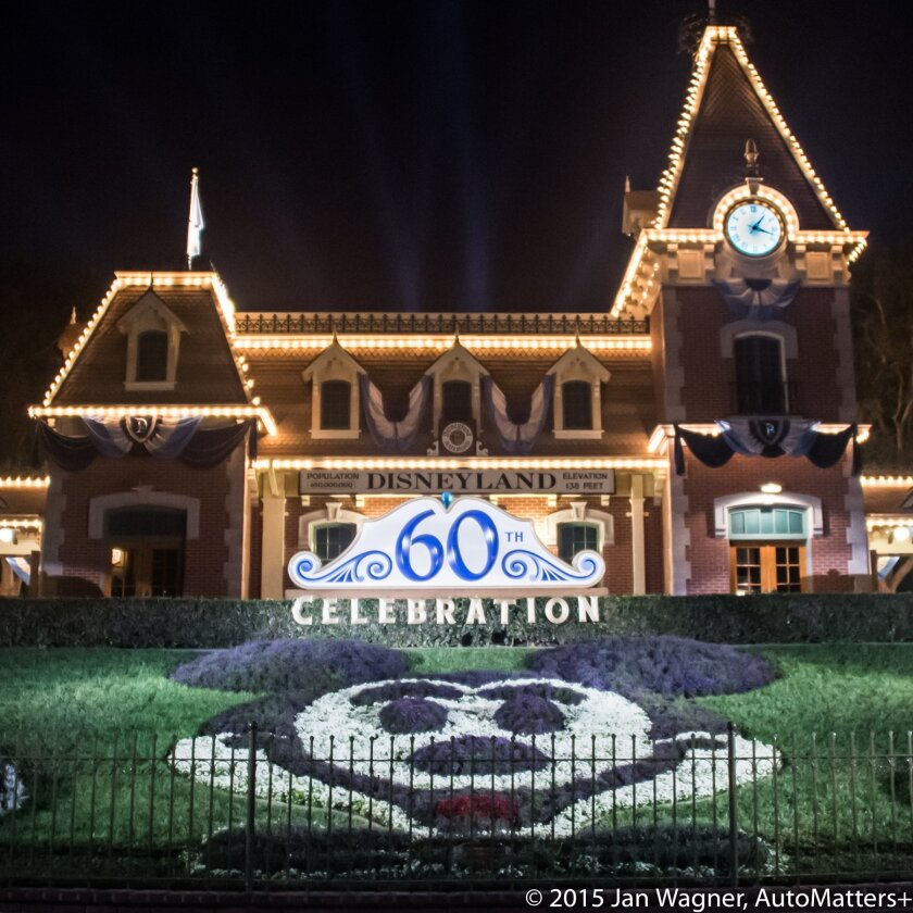 Disneyland at 60.