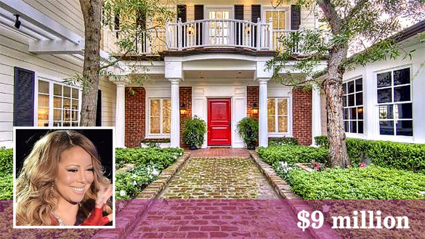 Mariah Carey has sold her home in Bel-Air for $9 million.
