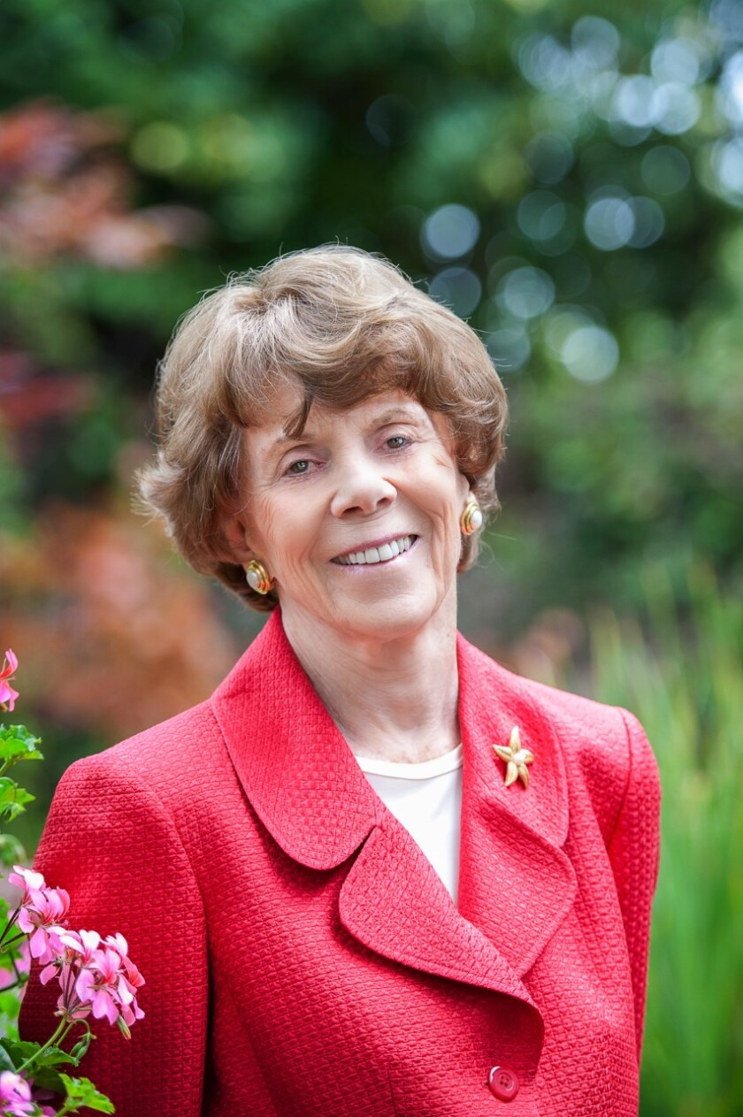 Rita Atkinson, a longtime benefactor of UC San Diego, died on Christmas Day, the university said.