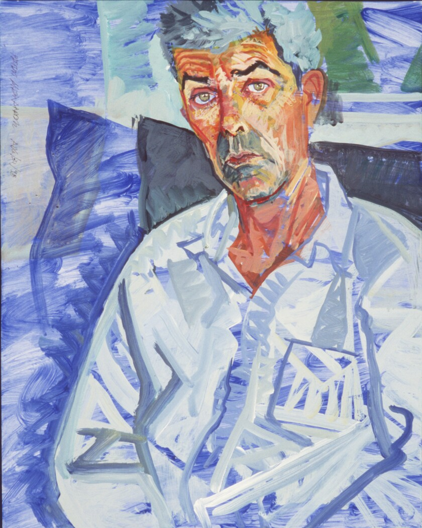 Portrait of Peter Alexander by Don Bachardy