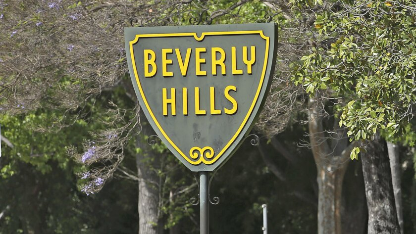 Road rage in Beverly Hills