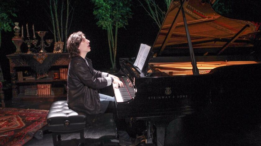 """Hershey Felder rehearses """"Our Great Tchaikovsky"""" at San Diego Rep."""