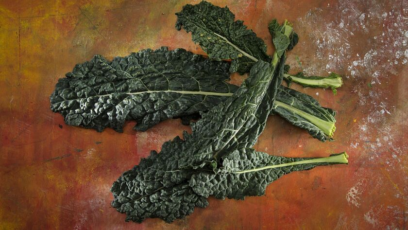 Kale is near the top of a list of produce with the most pesticide residue, according to a new guide released by the Environmental Working Group.