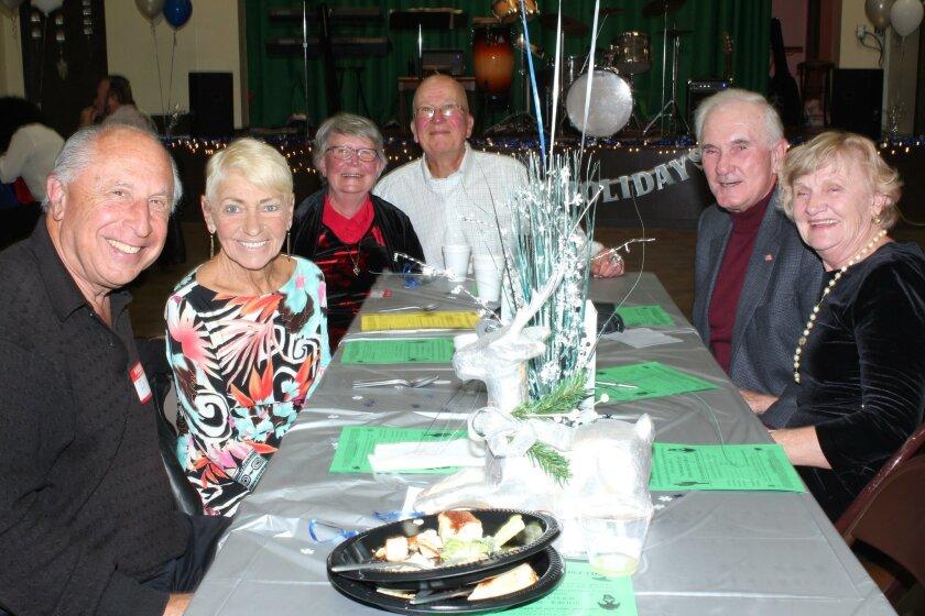 Ira and Lottie Goodman, Kathy and Al Fredman, Bob and Carol Larkin