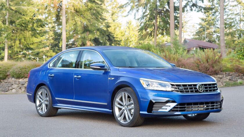 The Passat R-Line is a contemporary commuter with a 600-mile range.