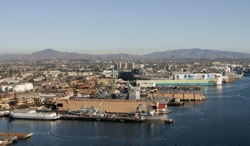 Shipyard operators BAE Systems and General Dynamics NASSCO are among the parties on the hook for cleaning up polluted sediment in San Diego Bay. After several closed meetings with bay polluters, the San Diego Regional Water Quality Control Board revised its cleanup order.