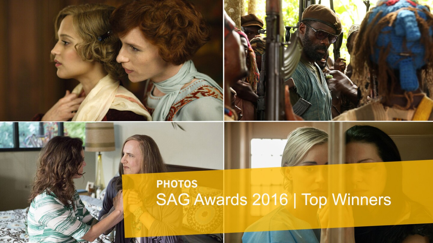 SAG 2016 Nominees and Winners