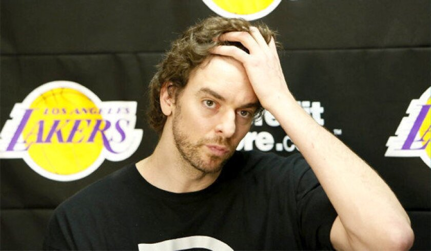 After undergoing a knee procedure Thursday, Pau Gasol will not resume basketball-related activities for 12 weeks.