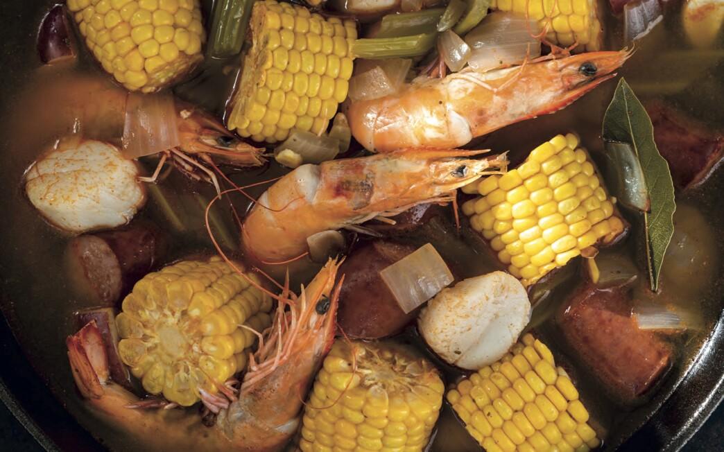 LOS ANGELES, CA. JUNE 12, 2020: alexander-smalls-frogmore-stew (Beatriz da Costa)
