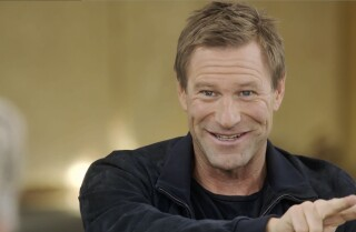 Aaron Eckhart, on being directed by Clint Eastwood