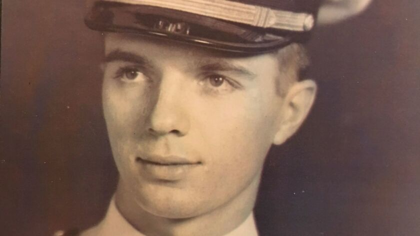 Burton Edgar Freeman served as a officer in the U.S. Navy during WWII