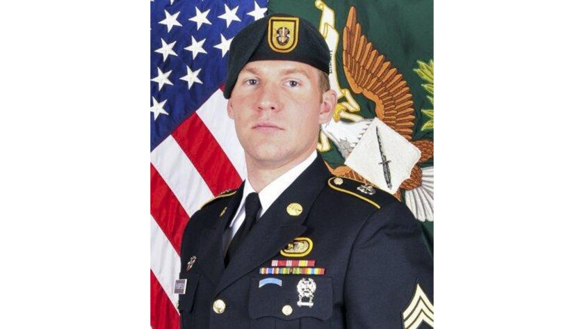 Army Staff Sgt. Matthew V. Thompson, 28, of Irvine died Tuesday when an improvised explosive device exploded in Helmand province in Afghanistan.