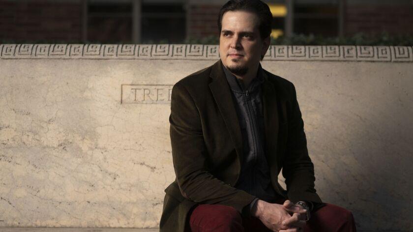 American Youth Symphony music director Carlos Izcaray.
