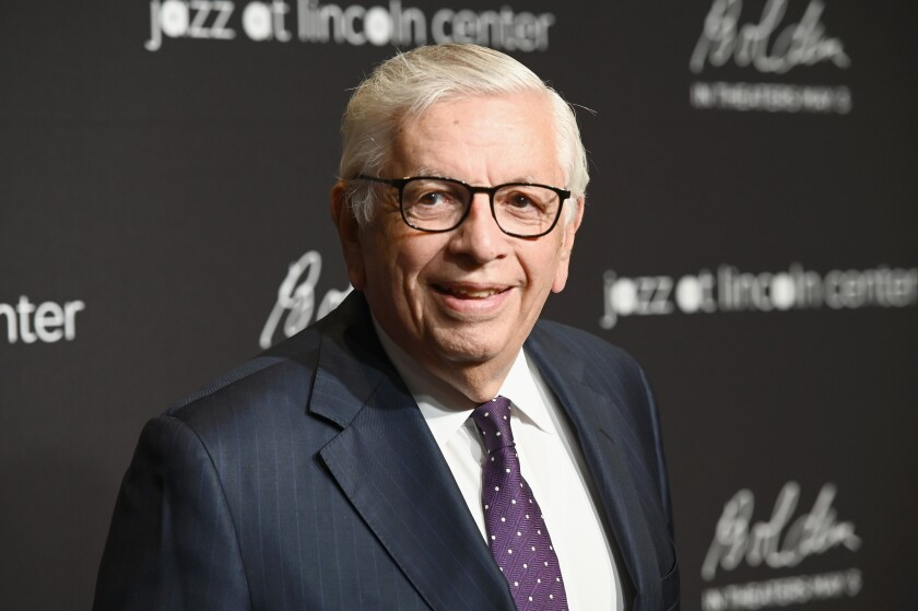 Former NBA Commissioner David Stern attends a gala at Lincoln Center in New York on April 17.