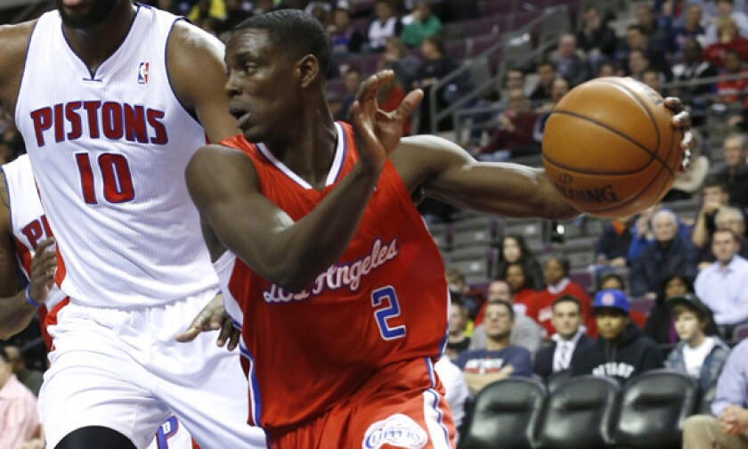Clippers point guard Darren Collison averaged 13.3 points and 6.5 assists per game during Chris Paul's injury absence.