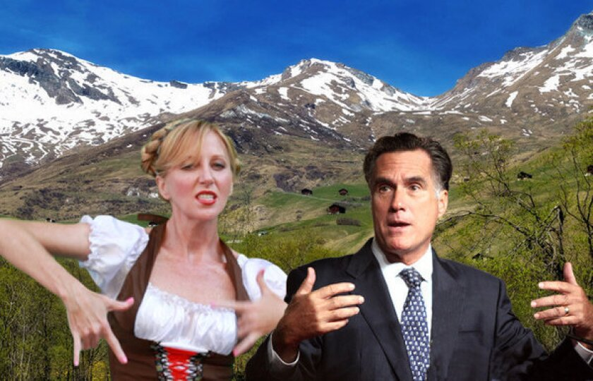 Satirical 'Romney Girl' video may be pulled from YouTube.