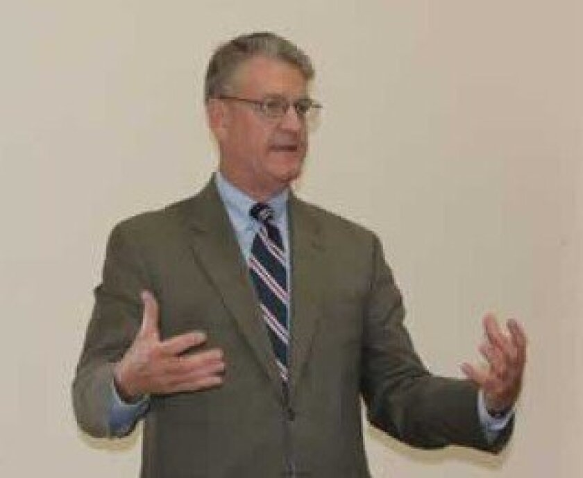 San Diego County Treasurer/Tax Collector Dan McAllister. PAT SHERMAN