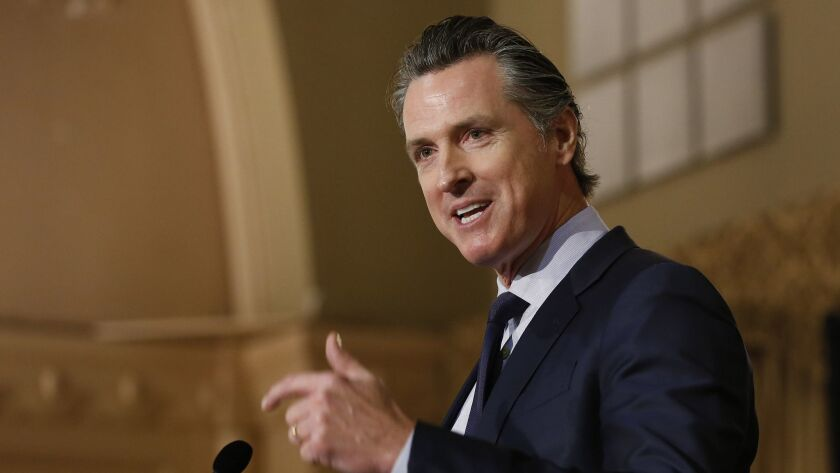 California Gov. Gavin Newsom announced Friday that the state is suing Huntington Beach for failing to comply with state housing law.