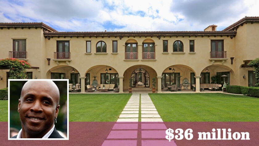 The Beverly Park estate Barry Bonds sold last year for $22 million is back on the market for $36 million.