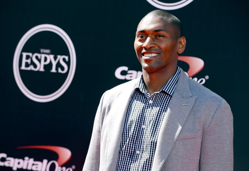 Former NBA player Metta World Peace has signed a one-year contract to play in China.