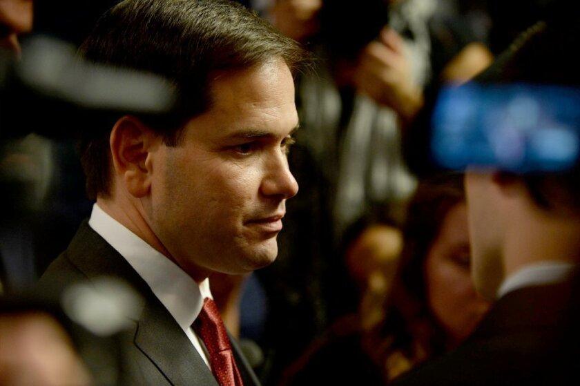 Marco Rubio sostiene que el programa DACA debe terminar en algun punto.