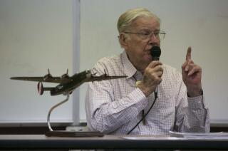 In Ramona, an airplane and an aviator provide living lessons on World War II