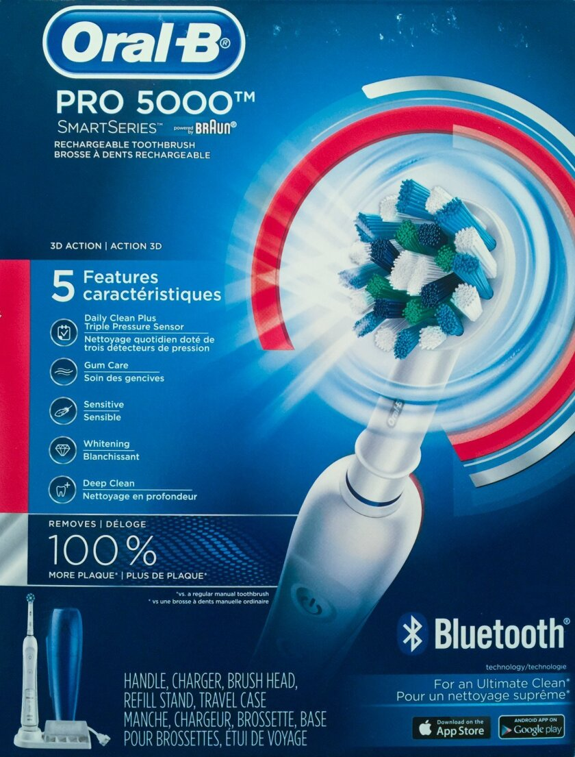 Oral-B Pro 5000 Bluetooth rechargeable toothbrush