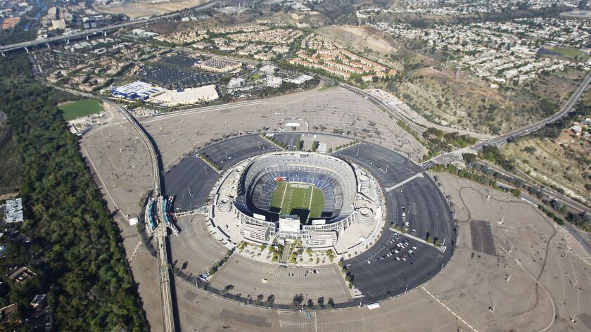 SDCCU Stadium in Misson Valley missed out on hosting games in the 1994 World Cup of soccer, and now it likely won't be around for the 2026 tournament in the United States.