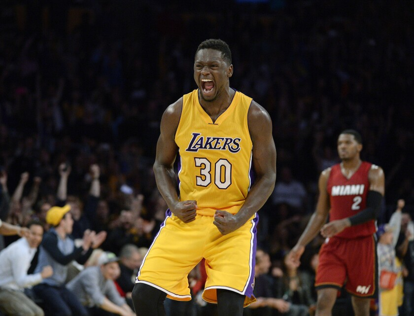 info for fd3a9 211a3 Lakers' Julius Randle has stitches removed from hand - Los ...