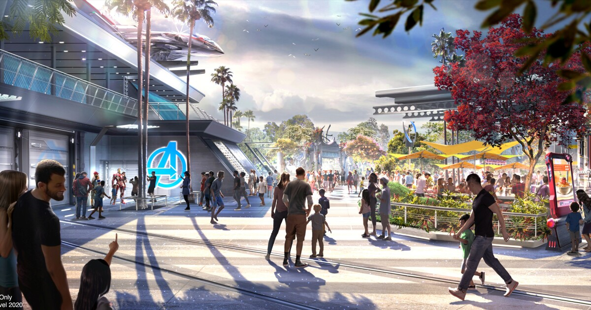 Don't expect Disney's Avengers Campus to be like 'Harry Potter' World or 'Star Wars: Galaxy's Edge'