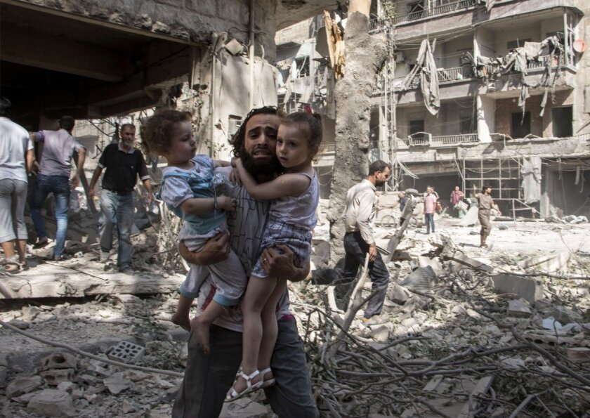 Shelling and air bombardments in Syria have had a disproportionate effect on women and children, according to a first-of-its-kind analysis published in the medical journal BMJ.