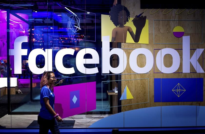 Facebook joins Google in states' antitrust crosshairs - Los
