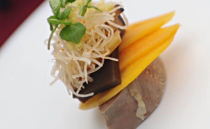 Robert Ruiz's Cunning Lengua, the winning dish at the Chef of the Fest Competition.