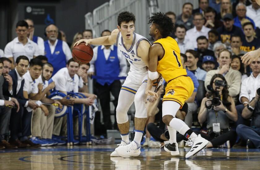 UCLA freshman guard Jaime Jaquez Jr. hit the game-winning shot against Arizona on Thursday, extending the Bruins' winning streak to six games.