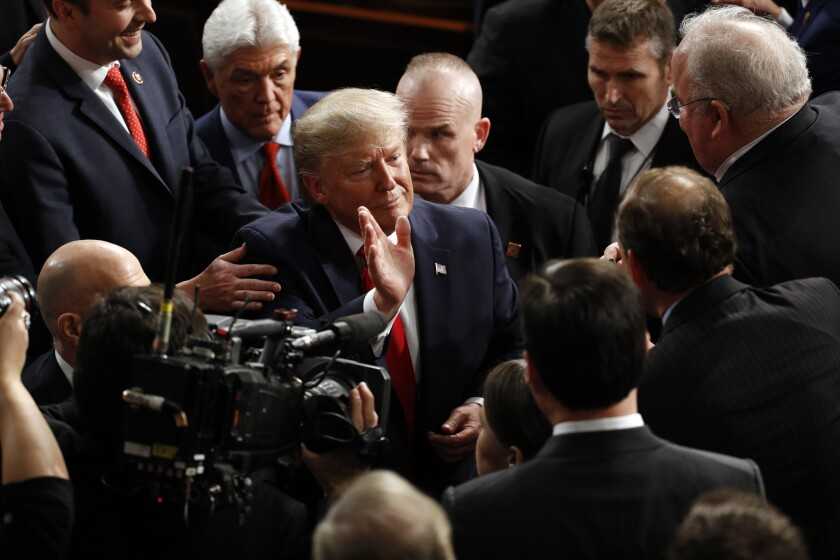 President Trump's State of the Union address was more of a campaign speech.