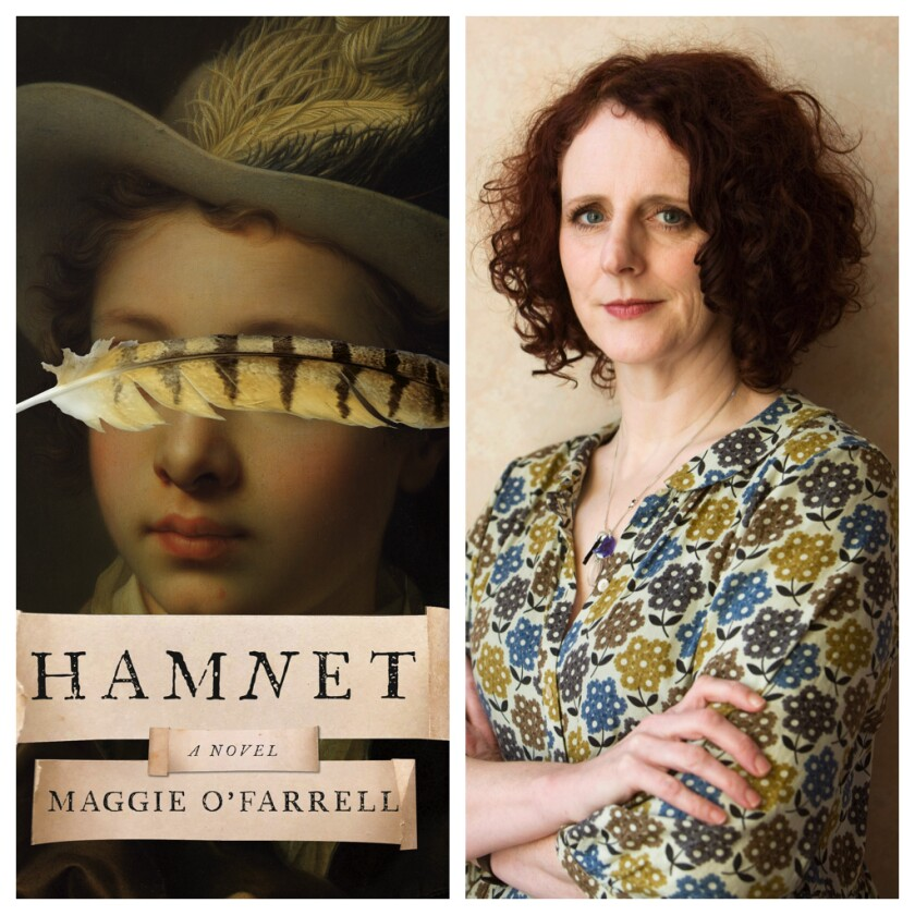 """Maggie O'Farrell's most recent novel, """"Hamnet,"""" is based on the death of Shakespeare's son."""