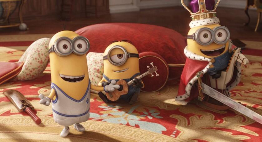 "Universal Pictures and Illumination Entertainment's ""Minions"" has crossed the $1-billion box office milestone."