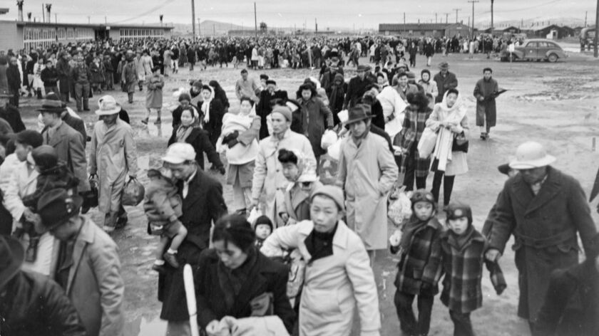 Tule Lake concentration camp in California, 1945. Credit: Jack and Peggy Iwata / Japanese American N