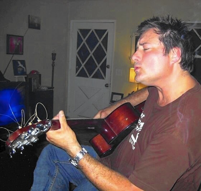 Donald Fuschetti often would entertain friends by playing classic rock songs on his acoustic guitar. He was struck and killed by an SUV on Oct. 11 while crossing Westcliff Drive in Newport Beach.