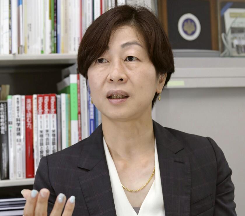 Kaori Yamaguchi, miembro ejecutivo del Comité Olímpico de Japón